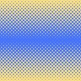 Fondo abstracto de semitono en colores del azul y del complemento Foto de archivo