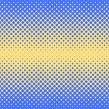 Fondo abstracto de semitono en colores del azul y del complemento Imágenes de archivo libres de regalías