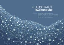 Fondo abstracto de un concepto de la comunicación Imagen de archivo