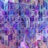 Fondo abstracto decorativo de la acuarela con los detalles abstractos Foto de archivo
