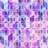 Fondo abstracto decorativo de la acuarela con los detalles abstractos Imagen de archivo libre de regalías