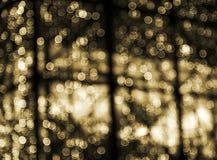 Fondo abstracto Defocused de la Navidad Foto de archivo
