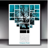 Fondo abstracto del árbol libre illustration