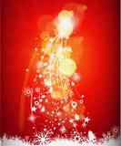 Fondo abstracto del árbol de navidad Imagen de archivo