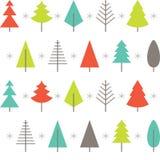 Fondo abstracto del árbol de navidad Vector Fotografía de archivo libre de regalías