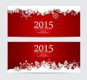 Fondo abstracto del Año Nuevo de la belleza 2015 Vector Imagen de archivo