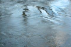 Fondo abstracto del agua azul Imágenes de archivo libres de regalías