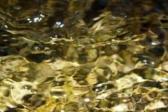 Fondo abstracto del agua móvil Foto de archivo libre de regalías