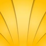 Fondo abstracto del amarillo del oro con las sombras Ilustración del vector Fotos de archivo libres de regalías