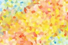 Fondo abstracto del amarillo, marrón y azul como cristales libre illustration
