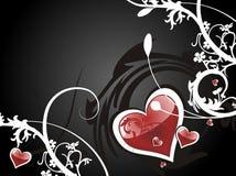 Fondo abstracto del amor Imagen de archivo