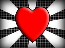 Fondo abstracto del amor Fotografía de archivo