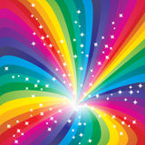 Fondo abstracto del arco iris Imagenes de archivo