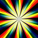Fondo abstracto del arco iris Fotos de archivo