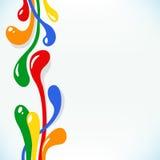Fondo abstracto del arco iris ilustración del vector