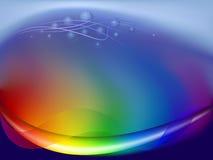 Fondo abstracto del arco iris stock de ilustración