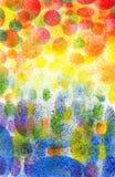 Fondo abstracto del arte Foto de archivo libre de regalías