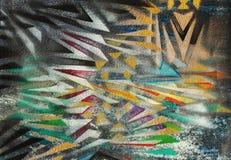 Fondo abstracto del arte Stock de ilustración