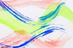 Fondo abstracto del arte de la acuarela stock de ilustración