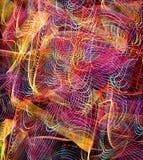 Fondo abstracto del arte de la tecnología del color Imagen de archivo libre de regalías