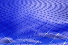 Fondo abstracto del azul 3D Imágenes de archivo libres de regalías