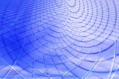 Fondo abstracto del azul 3D Imagen de archivo libre de regalías