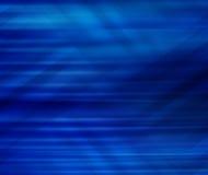 Fondo abstracto del azul de la línea y de la curva Foto de archivo