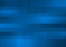 Fondo abstracto del azul del diseño del pixel del randon Stock de ilustración