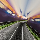 Fondo abstracto del bokeh del camino libre illustration