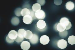 Fondo abstracto del bokeh de la luz de la Navidad Año Nuevo Fotos de archivo libres de regalías