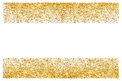 Fondo abstracto del brillo del oro Chispas brillantes para la tarjeta imagen de archivo libre de regalías