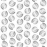Fondo abstracto del círculo de los puntos representación 3d Fotografía de archivo