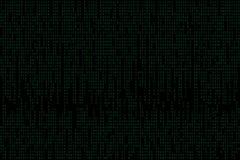 Fondo abstracto del código binario de la tecnología Datos binarios de Digitaces y concepto seguro de los datos stock de ilustración