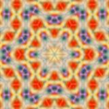 Fondo abstracto del caleidoscopio Textura multicolora hermosa Diseño caleidoscópico único Tiro largo de la exposición Imagen de archivo libre de regalías