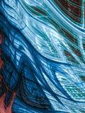 Fondo abstracto del caos - imagen digital generada Fotografía de archivo libre de regalías