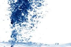 fondo abstracto del chapoteo del agua Fotografía de archivo
