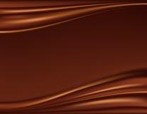 Fondo abstracto del chocolate Fotografía de archivo