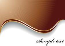 Fondo abstracto del chocolate Imagen de archivo libre de regalías