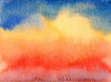 Fondo abstracto del cielo fotos de archivo