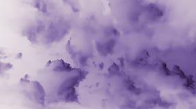 Fondo abstracto del cielo de la nube Foto de archivo libre de regalías