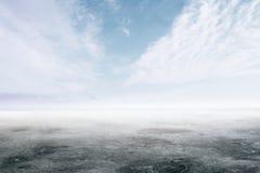 Fondo abstracto del cielo y de la tierra Foto de archivo libre de regalías