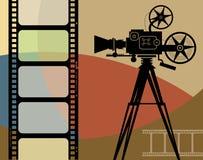 Fondo abstracto del cine Foto de archivo