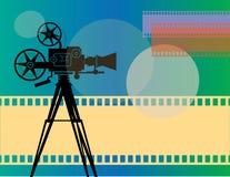 Fondo abstracto del cine stock de ilustración