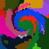 Fondo abstracto del color Imagen de archivo