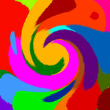 Fondo abstracto del color Fotos de archivo
