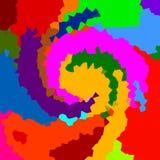 Fondo abstracto del color Foto de archivo libre de regalías