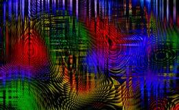 Fondo abstracto del color Imagenes de archivo
