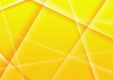 Fondo abstracto del color amarillo Fotografía de archivo