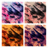 Fondo abstracto del color de agua Imagenes de archivo