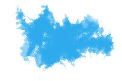 Fondo abstracto del color de agua azul Libre Illustration